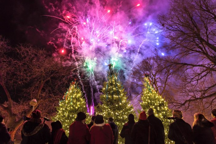 4. Our holiday festivals are a force to be reckoned with.