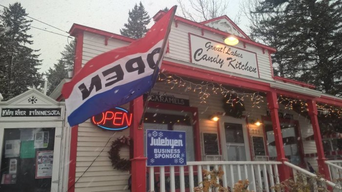 10. Great! Lakes Candy Kitchen, Knife River.