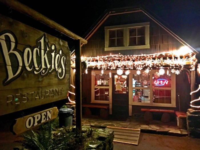 8. Beckie's Cafe