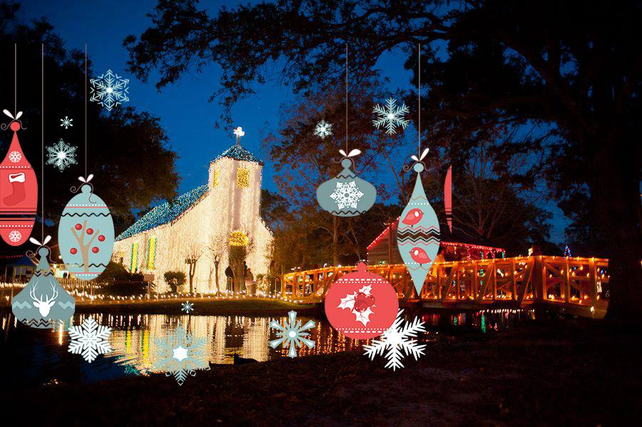 & The 9 Top Christmas Towns in Louisiana
