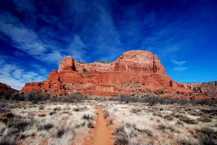 14. Courthouse Rock in Sedona looks stunning in this photo from November.