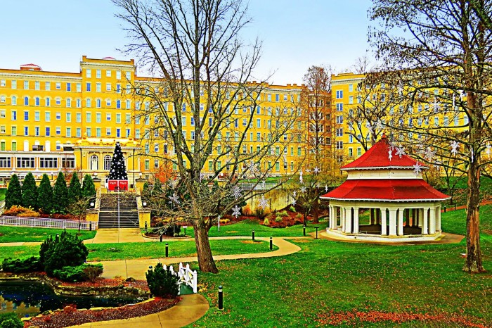 4. Steve Mundy shared a gorgeous picture of the French Lick Springs Hotel.