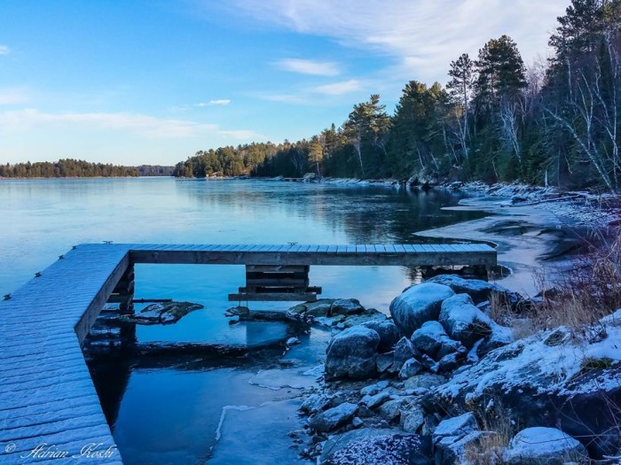 10. Lake Kabetogama never looked better! There's something so wonderful about the northern parts of the state covered in snow.