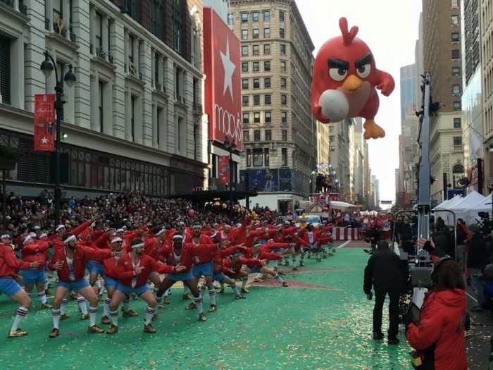 10.610 Stompers at the Macy's day parade NYC.