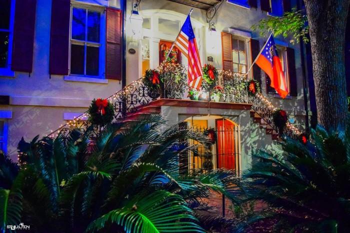10. Savannah, GA – Christmas Events