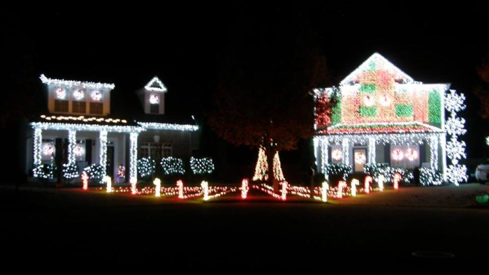 4. Atkinson Christmas Lights - 18 Riverwood Landing, Dallas, GA