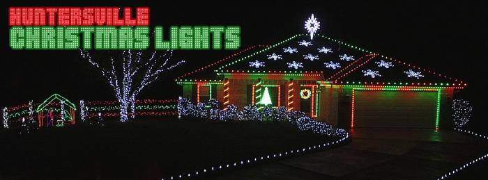 10. Huntersville Christmas Lights