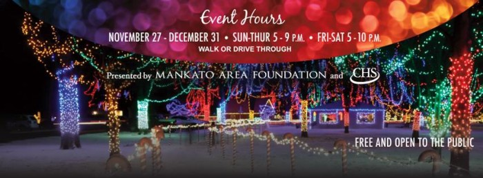 7. Kiwanis Holiday Lights, Mankato.