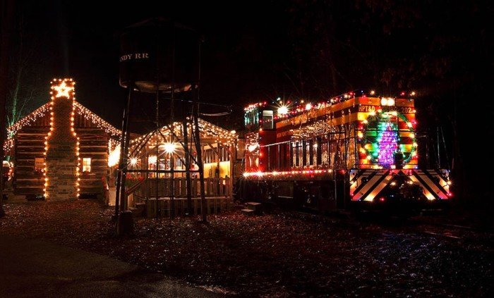 15. Country Christmas Train, Denton