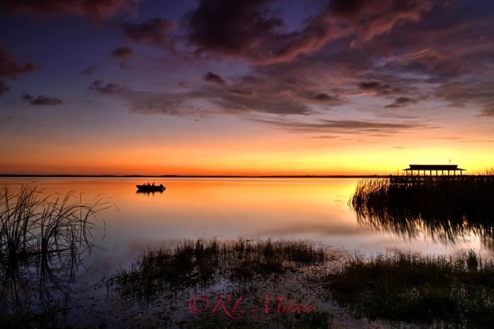 11. This magical sunset on Lake Trafford near Immokalee was captured by Rick Mann.