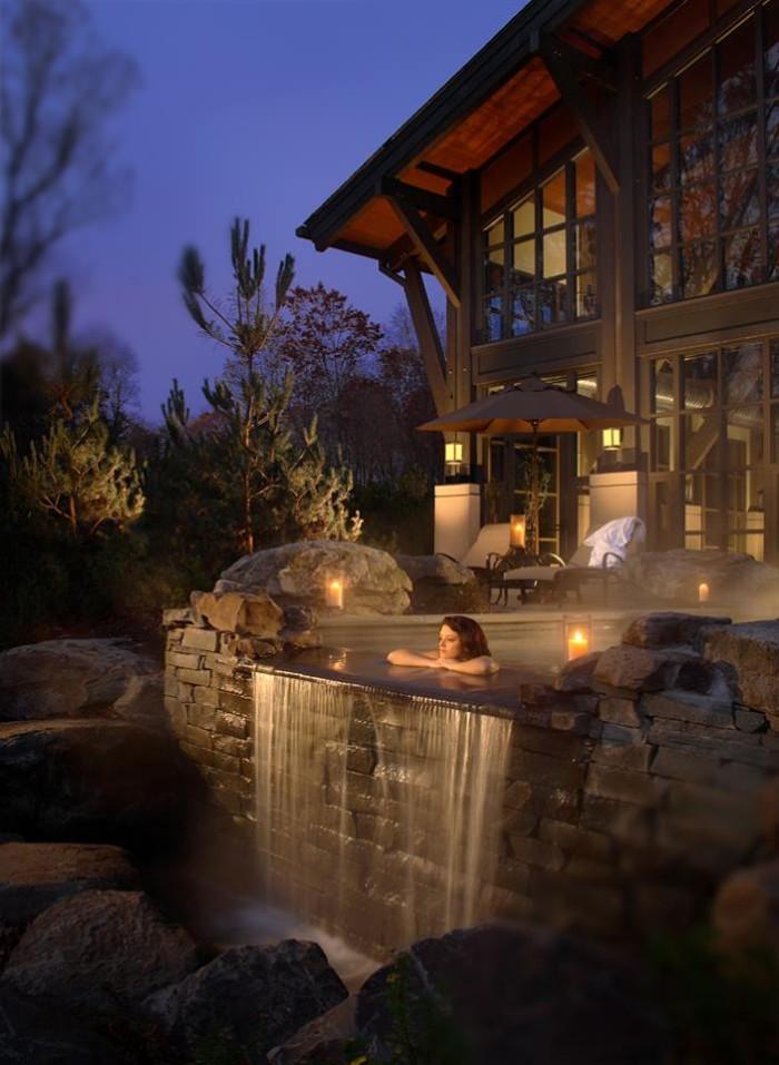 4. Unwind at a luxury spa.