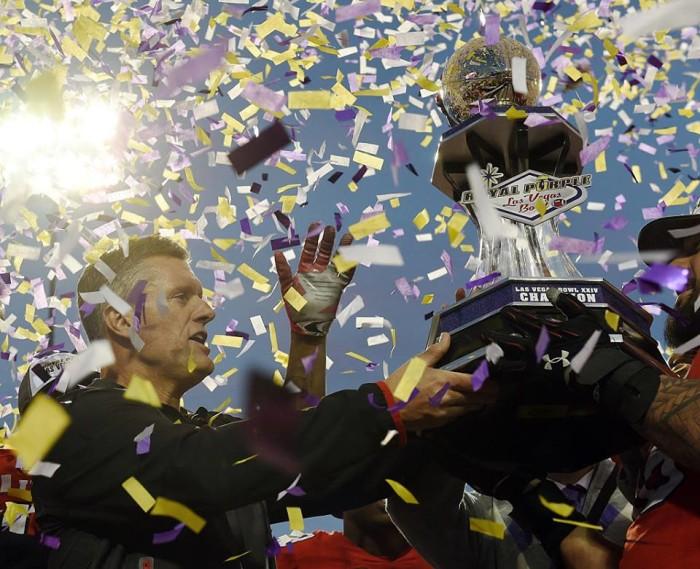 5. A Win at the Las Vegas Bowl