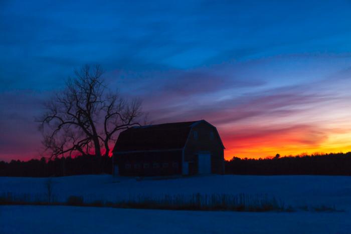 14. Sunset Barn, Brunswick