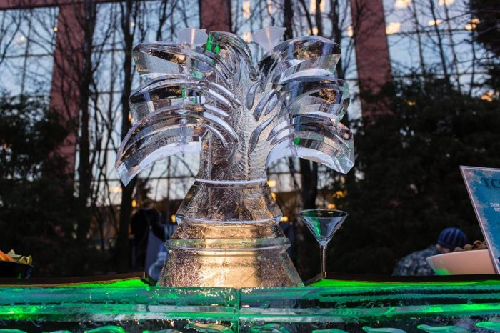 4. The Ice Bar at the Portland Harbor Hotel, January 21st to 23rd.