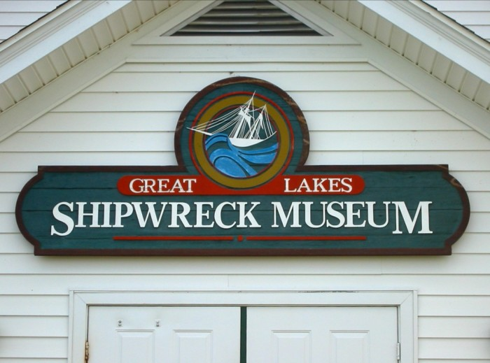 12) Great Lakes Shipwreck Museum.