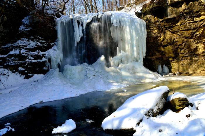 3. Hayden Falls (Columbus)