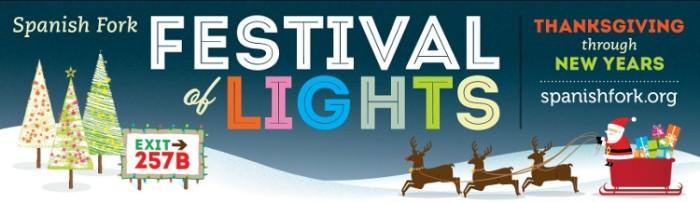 16. Spanish Fork Festival of Lights