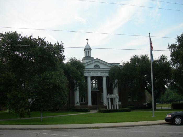 13. Calhoun County