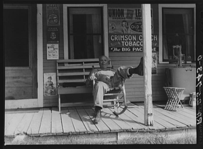 13.  Storekeeper. Lowell, Vermont.