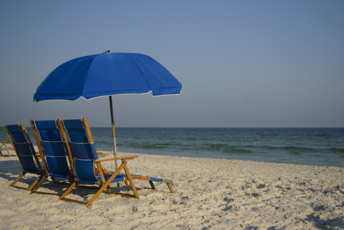 10. Take a beach vacation to Gulf Shores.
