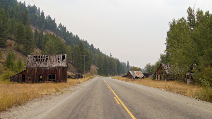 13. October: Explore an abandoned Ghost Town  in Washington like Bodie.