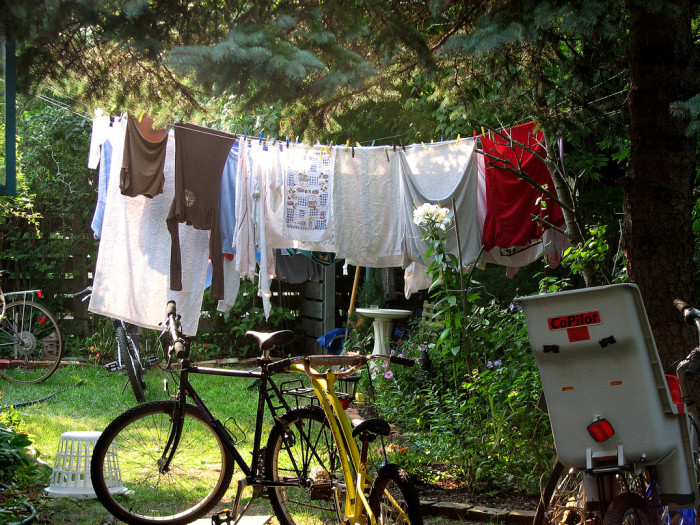 11. We spend enough during the summer on AC. Save a bit and hang your clothes out to dry!