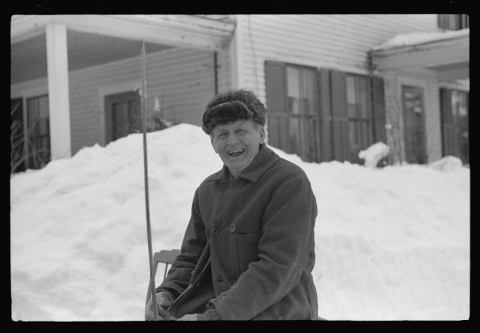 11.  G.W. Clark, seventy-one year old farmer, came to town every Saturday to sell butter. Woodstock, Vermont. He always lived in Vermont.