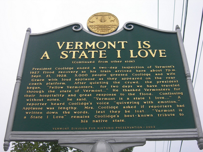 14.	Leaving Vermont and never coming back.