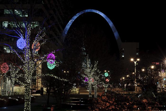 st louis - Christmas Lights St Louis