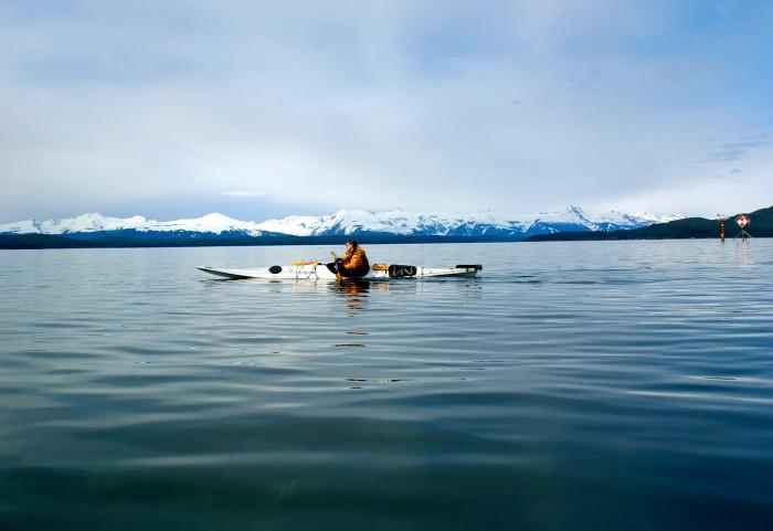 8) The wonders of kayaking Alaska's open waters.