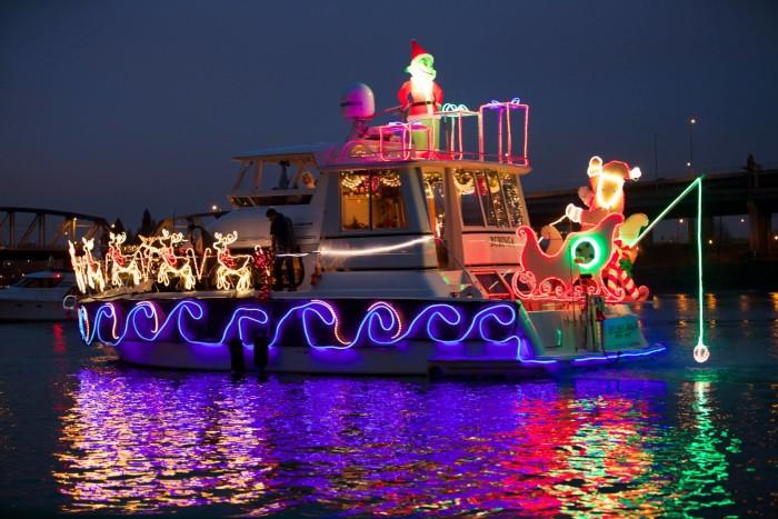 2. Portland Christmas Ships.