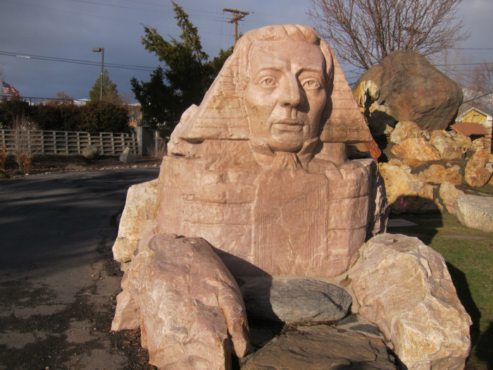 9. A Sphinx with the Face of Joseph Smith
