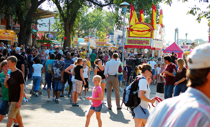 9. In 2015, the MN State Fair logged 1,779,738 visitors, enough to fill the new Vikings stadium more than 24 times!