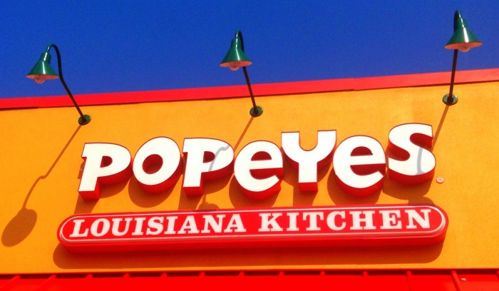7. Even if you're at a fancy dinner, biscuits and chicken from popeyes is EXACTLY what you should bring over.