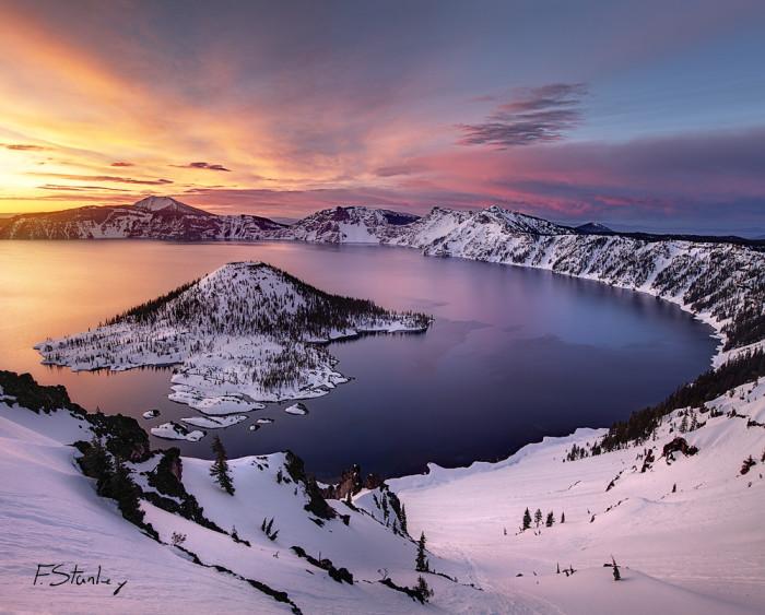 2. Crater Lake.