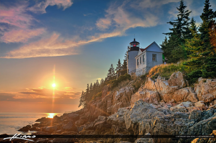 3. Maine is home to Acadia National Park.