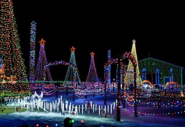 Synchronized Christmas Lights