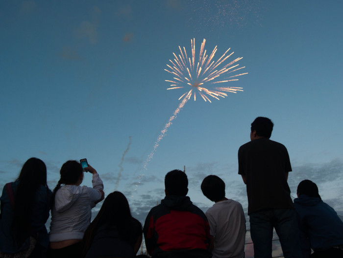 6) State Fair Fireworks Show