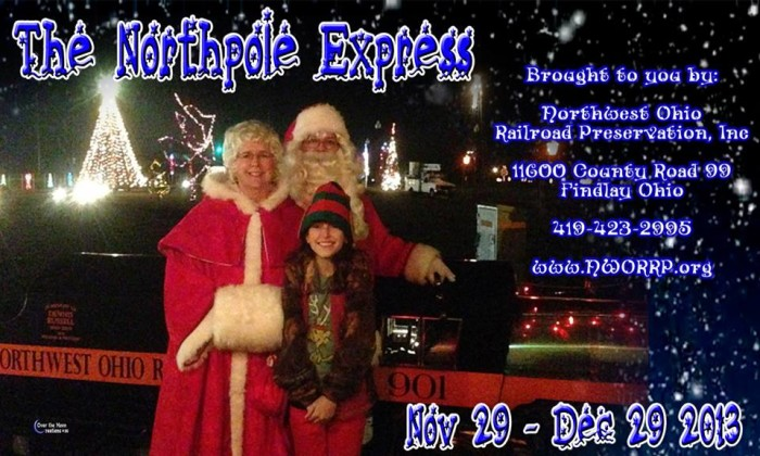 11. The North Pole Express (Findlay)