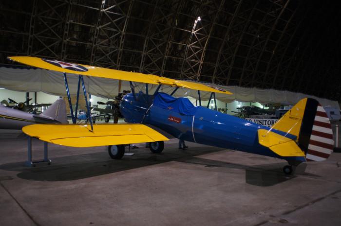 7. Visit the Tillamook Air Museum.