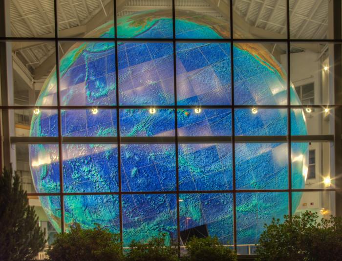4. The World's Largest Rotating Globe, Yarmouth