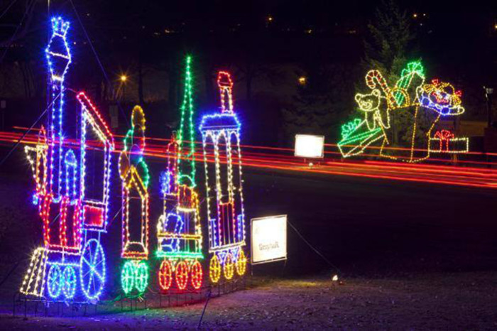 10. Holiday Lights in the Park, St. Paul.