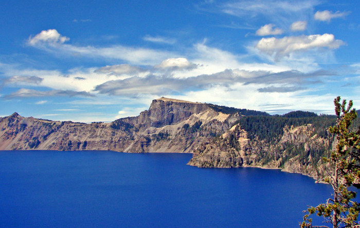 12. Crater lake is deeper than the Empire State Building is tall.