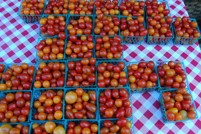 3.  If you want good food and great fun, you visit your local farmer's market.