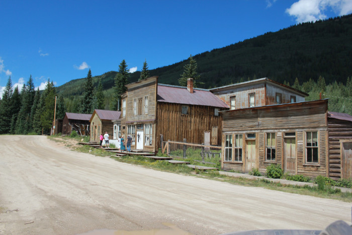 Tourists from both near and far visit St. Elmo every year and have the option of renting 4-wheelers to navigate its old mining roads.