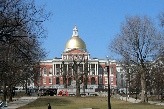 9. Economic growth in Massachusetts outpaced the U.S. economy.