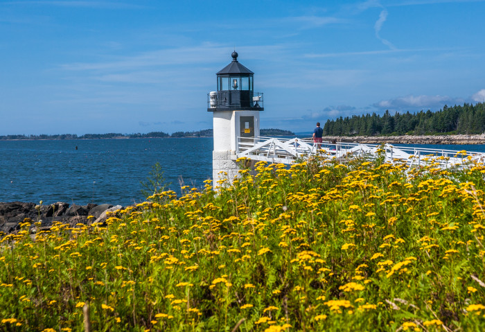 And, here's Marshal Point Light seen in the film!
