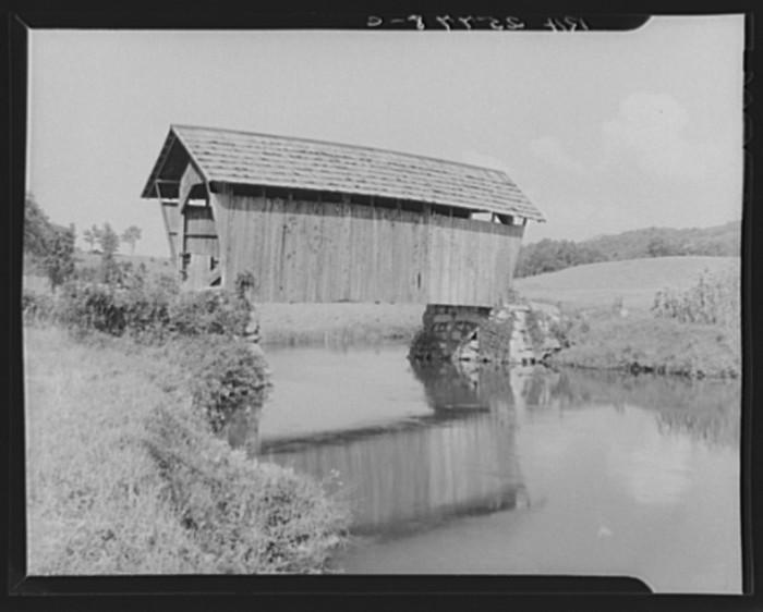 15.  Covered bridge, Plainfield, Vermont.