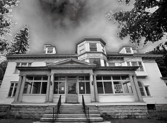 8. The Houghton Mansion, North Adams
