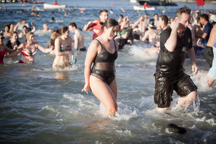 1) 14th Annual Wrangell Polar Bear Swim